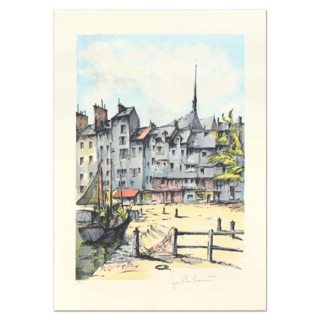 "Laurant - ""Honfleur"" Limited Edition Lithograph,"