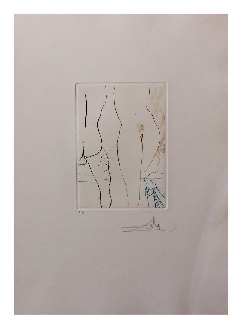 """Salvador Dali- Original Engravings in color """"Le"""