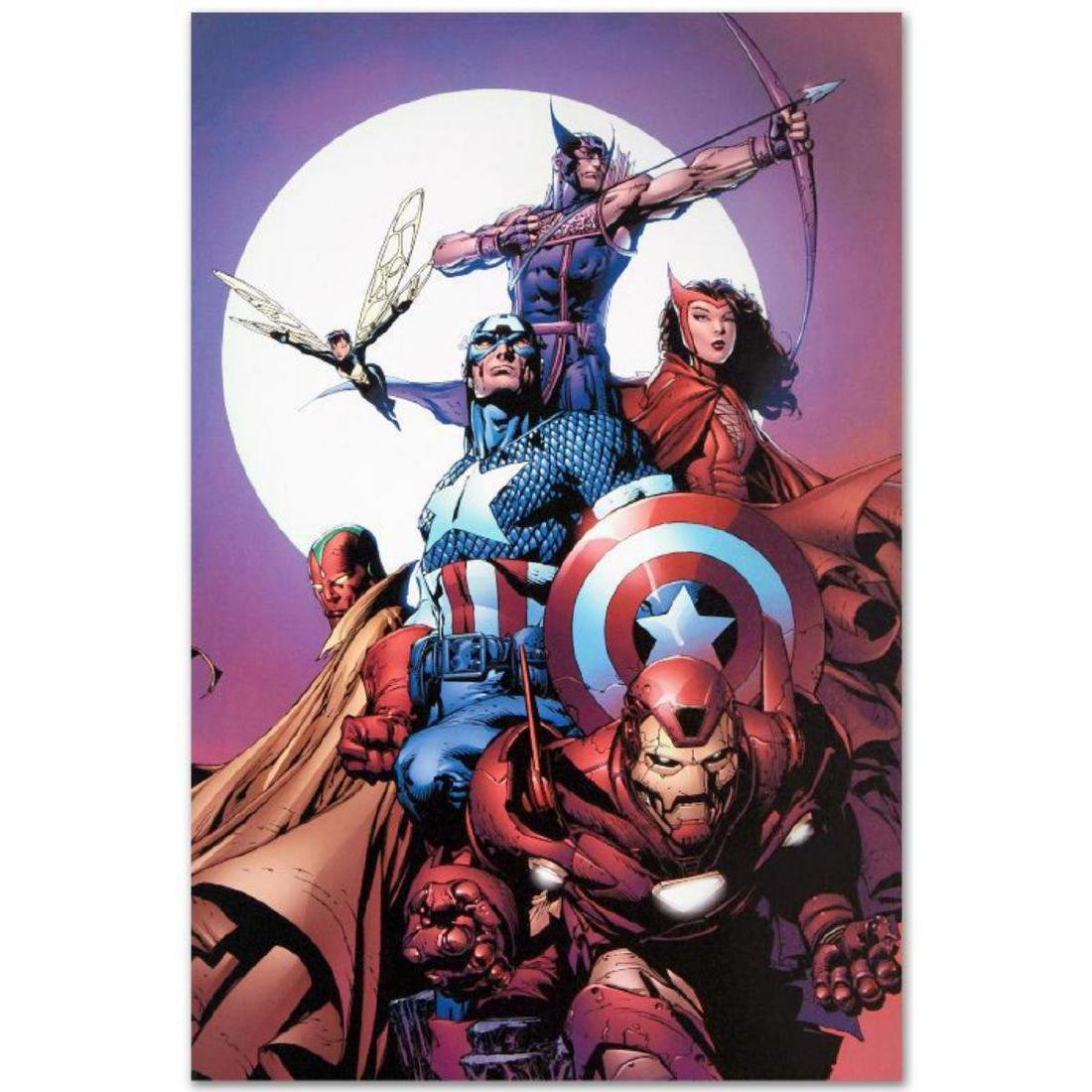"""""""Avengers #80"""" Limited Edition Giclee on Canvas by"""