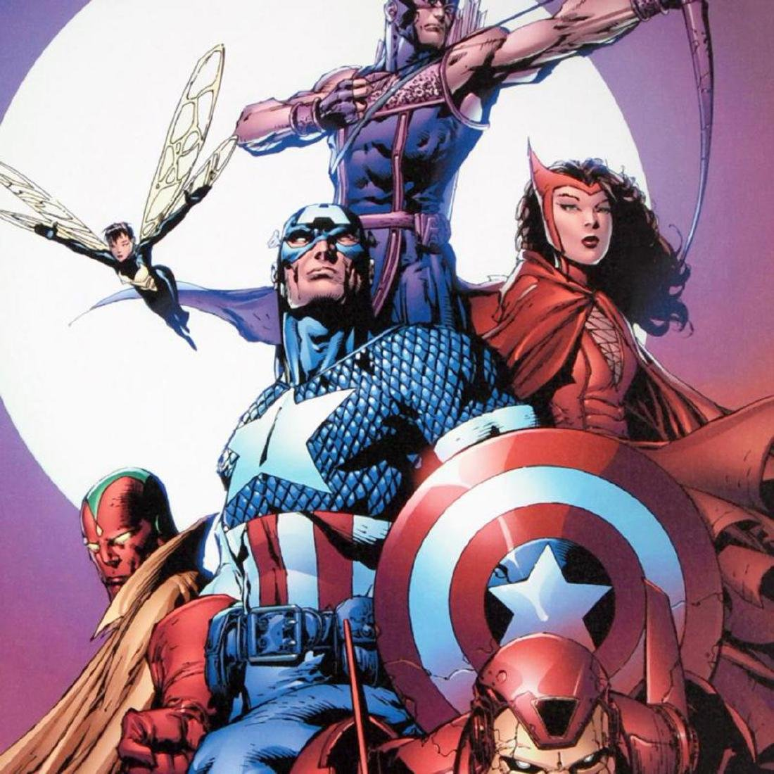 """""""Avengers #80"""" Limited Edition Giclee on Canvas by - 2"""