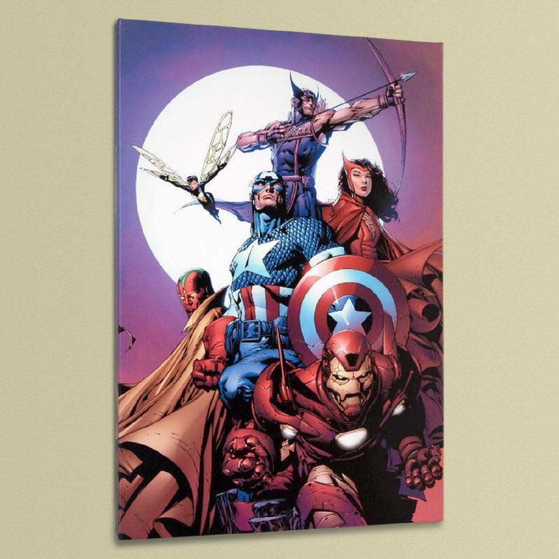"""""""Avengers #80"""" Limited Edition Giclee on Canvas by - 3"""