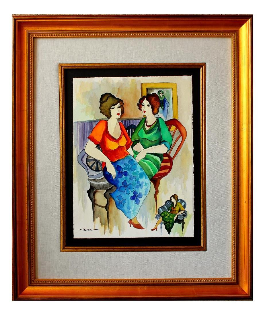 Patricia Govezensky- Original Watercolor