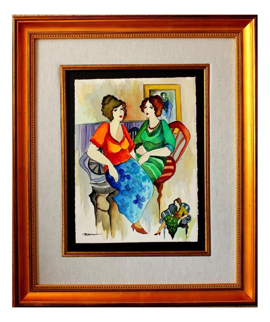 Patricia Govezensky- Original Watercolor - 2