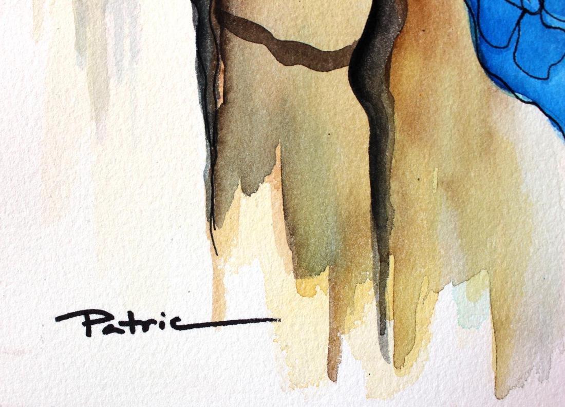 Patricia Govezensky- Original Watercolor - 3