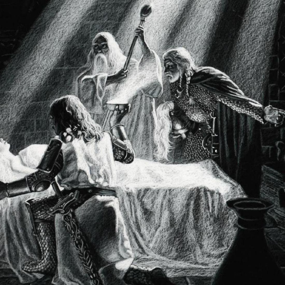 """""""Healing Of Eowyn"""" Limited Edition Giclee by Greg - 2"""