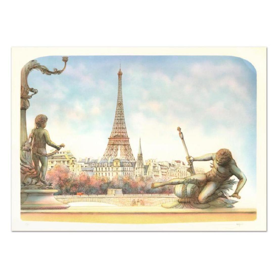 """Rolf Rafflewski, """"Eiffel Tower"""" - Limited Edition"""