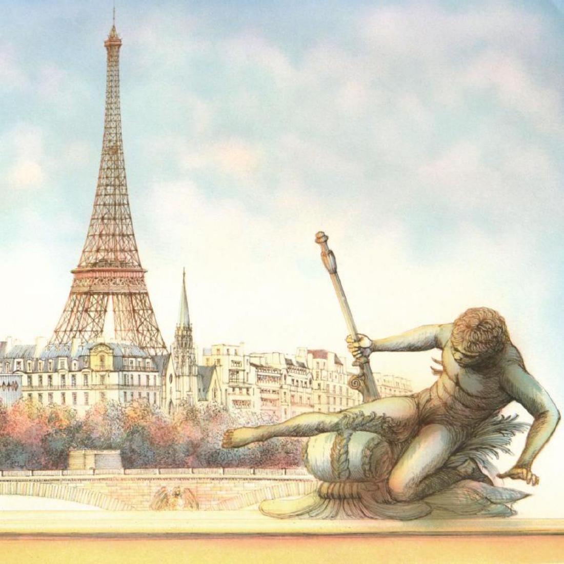 """Rolf Rafflewski, """"Eiffel Tower"""" - Limited Edition - 2"""