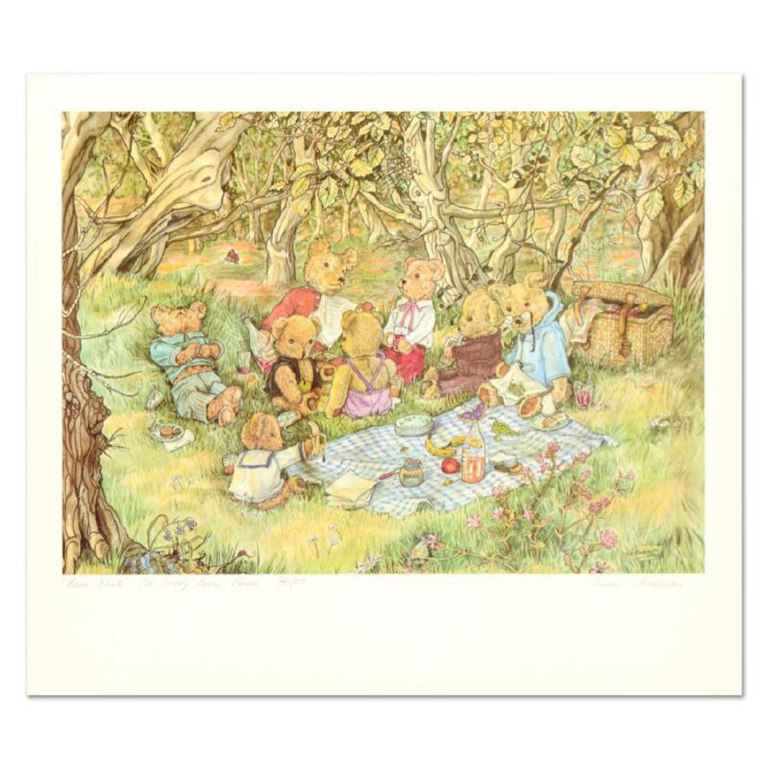 """Susan Anderson, """"The Teddy Bears Picnic"""" Limited"""