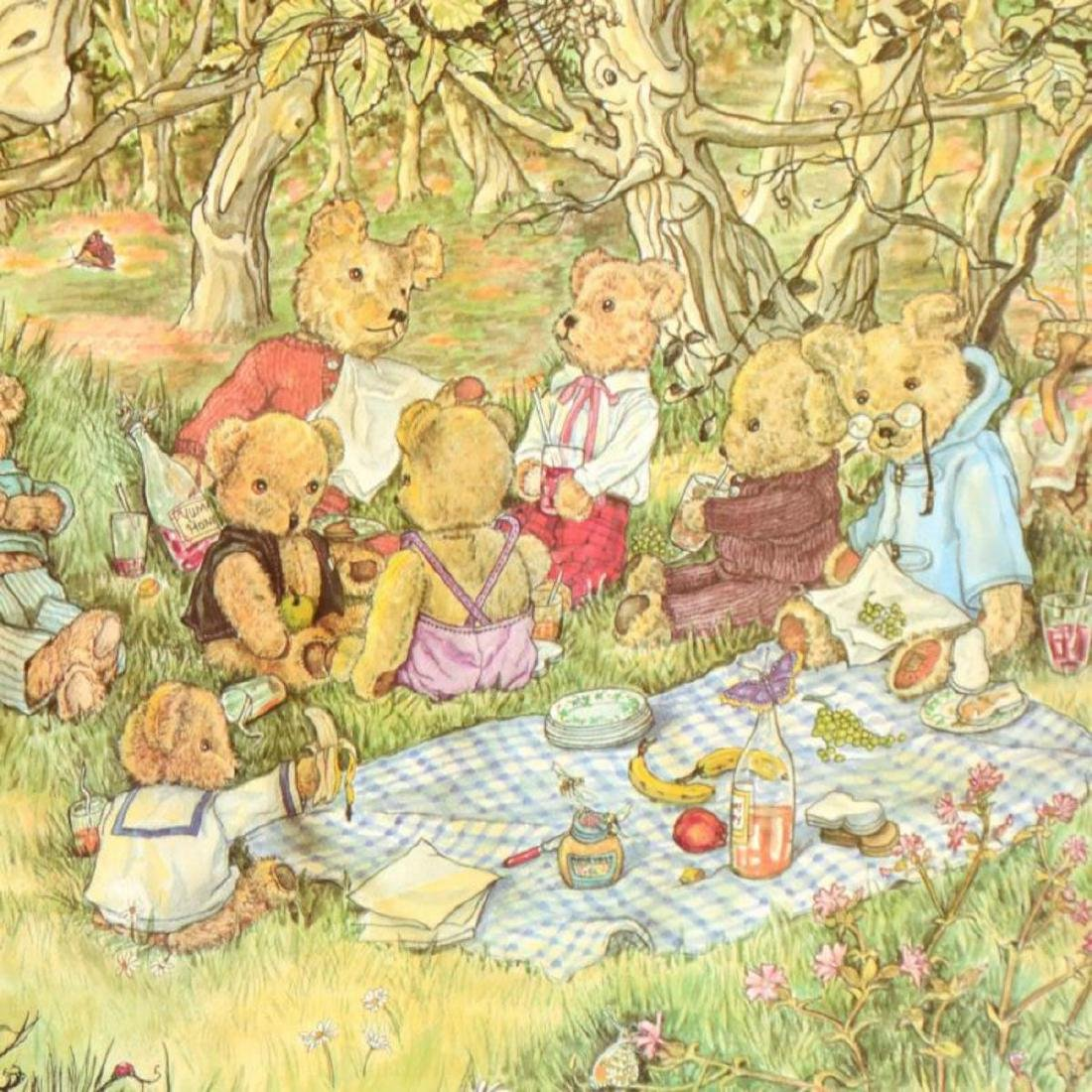 """Susan Anderson, """"The Teddy Bears Picnic"""" Limited - 2"""