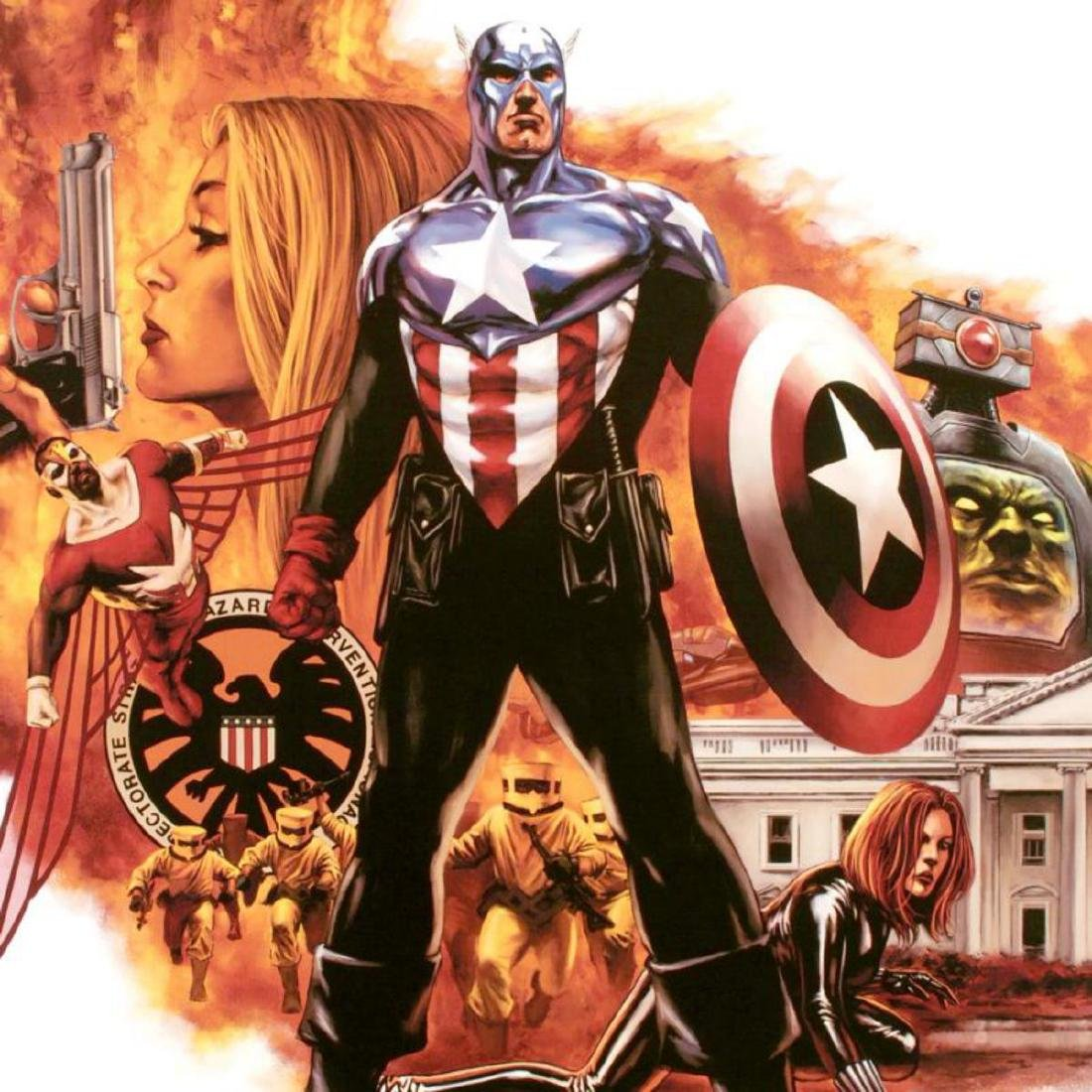 """""""Captain America #41"""" Limited Edition Giclee on Canvas - 2"""