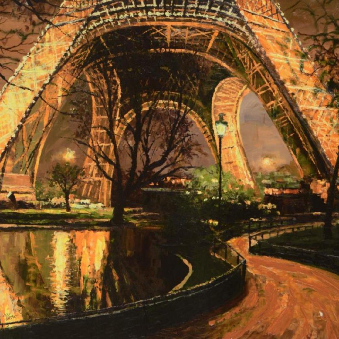 "Howard Behrens (1933-2014), ""Twilight At The Eiffel - 2"