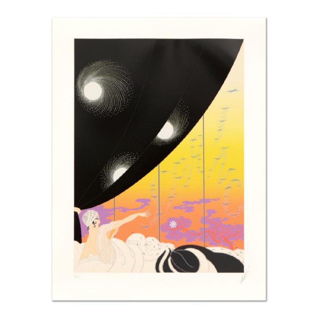 """Erte (1892-1990), """"Coming of Spring"""" Limited Edition"""