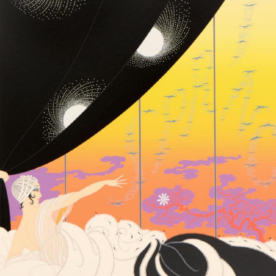 """Erte (1892-1990), """"Coming of Spring"""" Limited Edition - 2"""