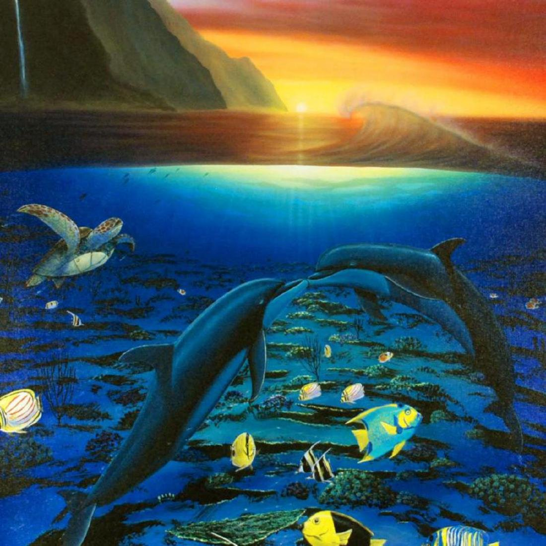 """""""Kiss for the Sea"""" Limited Edition Giclee on Canvas - 2"""