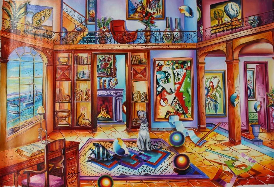 "Alexander Astahov- Original Oil on Canvas ""Ocean View"""