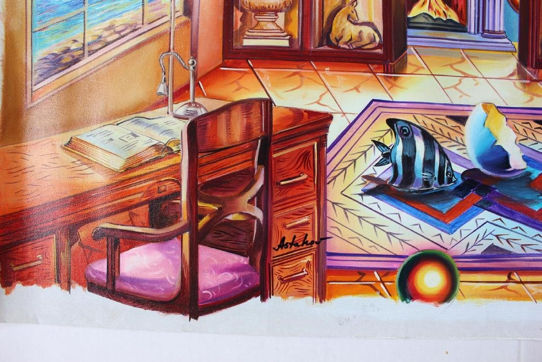 "Alexander Astahov- Original Oil on Canvas ""Ocean View"" - 2"