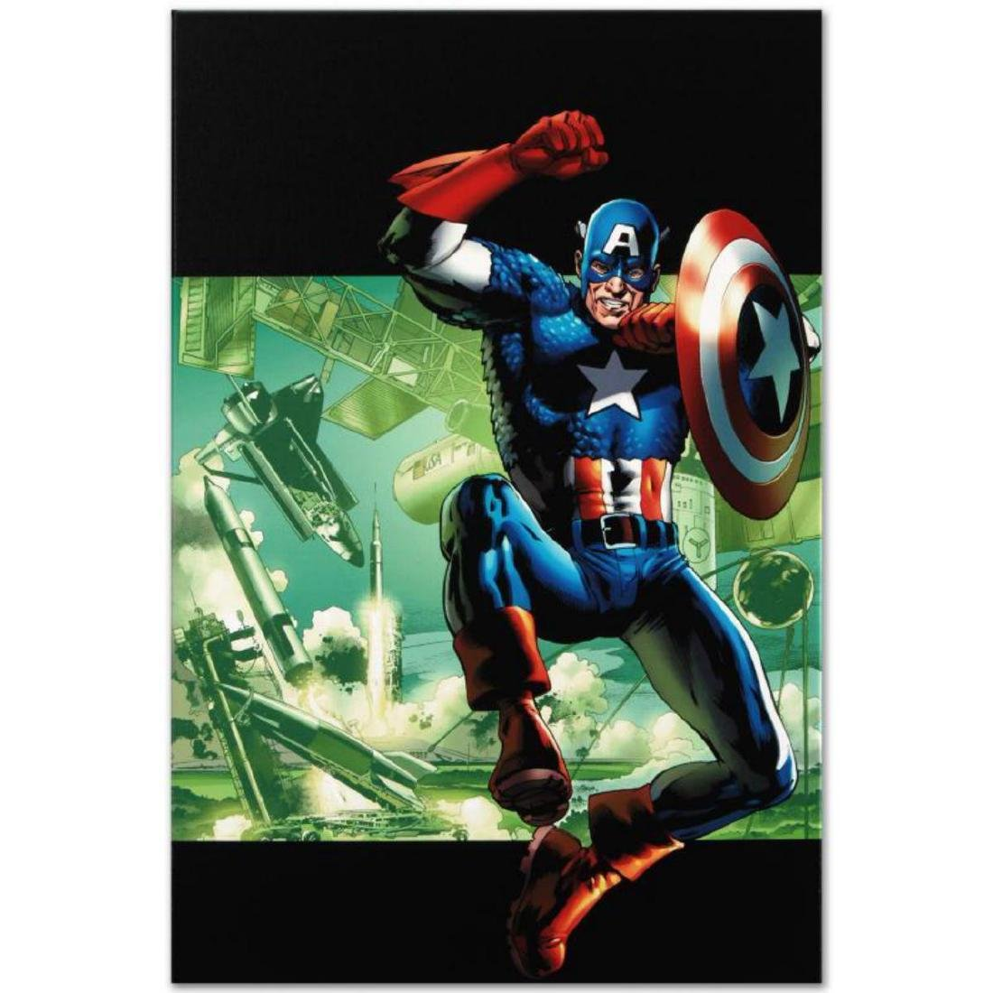 """""""Captain America: Man Out Of Time #4"""" Limited Edition"""