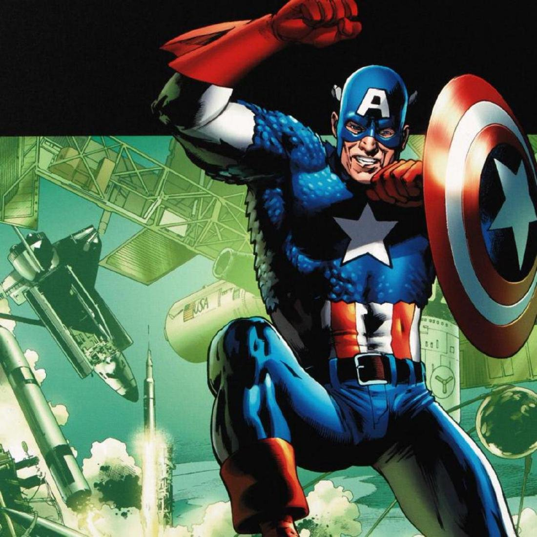 """""""Captain America: Man Out Of Time #4"""" Limited Edition - 2"""