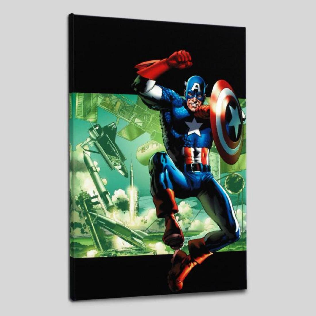 """""""Captain America: Man Out Of Time #4"""" Limited Edition - 3"""