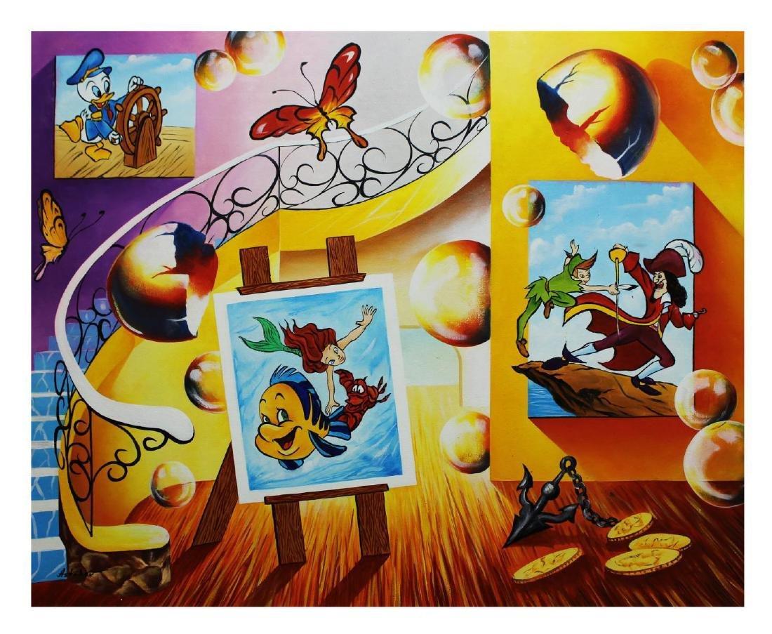 """Alexander Astahov- Original Oil on Canvas """"Fantasy"""""""