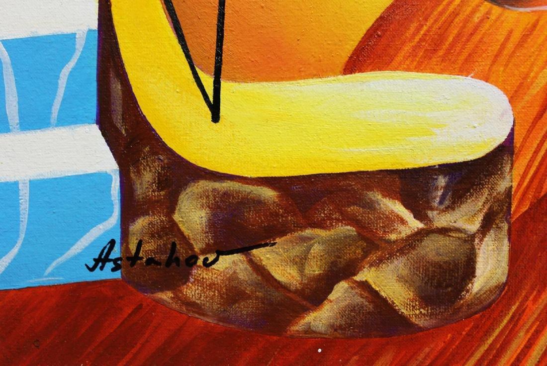 """Alexander Astahov- Original Oil on Canvas """"Fantasy"""" - 2"""
