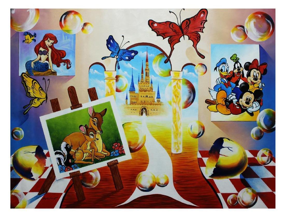 "Alexander Astahov- Original Oil on Canvas ""Journey to"