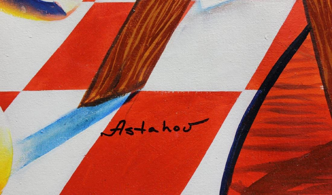 "Alexander Astahov- Original Oil on Canvas ""Journey to - 2"