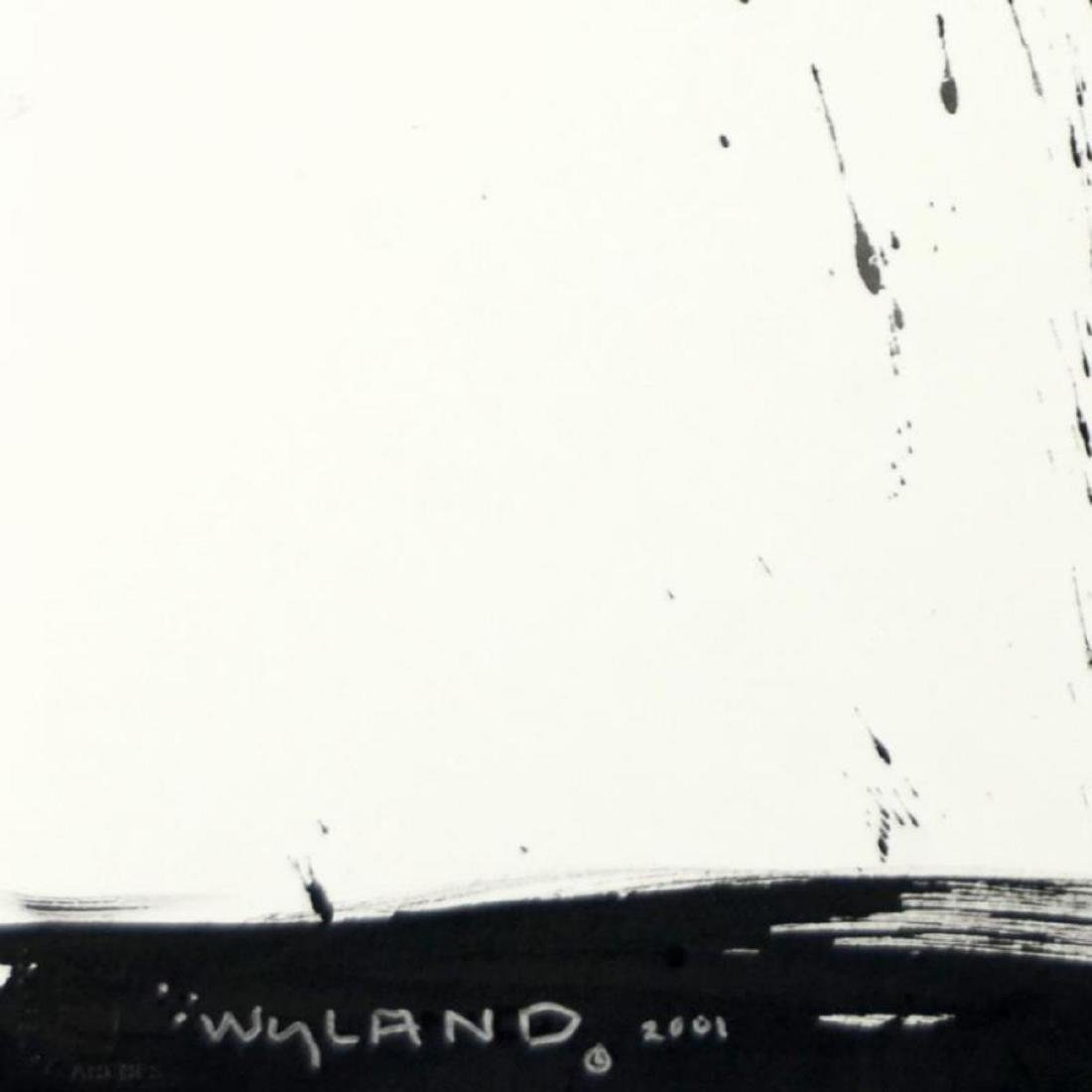 """Wyland, """"Orca"""" Original Sumi Ink Painting, Hand Signed - 3"""