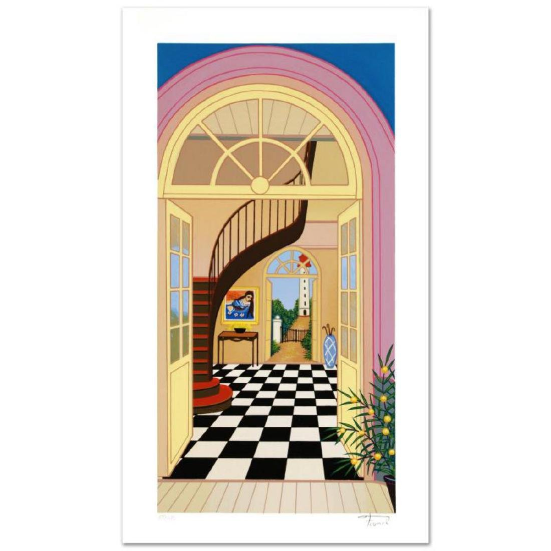 """""""Captain's Headquarter"""" Limited Edition Serigraph By"""