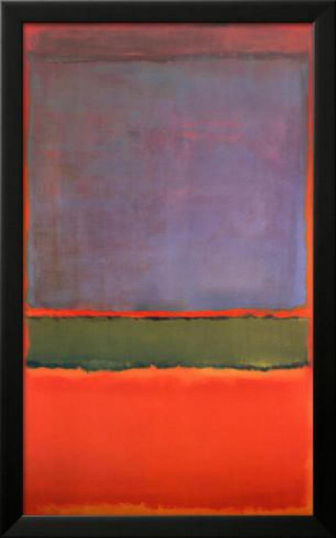 "Mark Rothko ""No. 6 (Violet, Green and Red), 1951"""