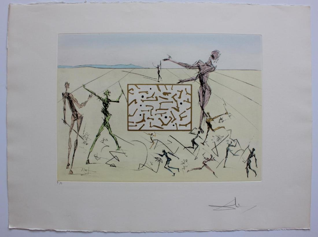 Salvador Dali- Original Engravings with color by