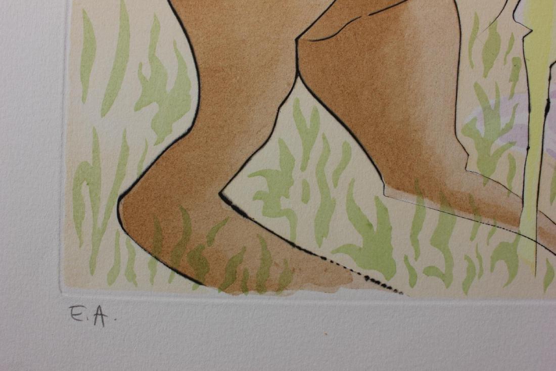 Salvador Dali- Original Engravings with Color by - 4