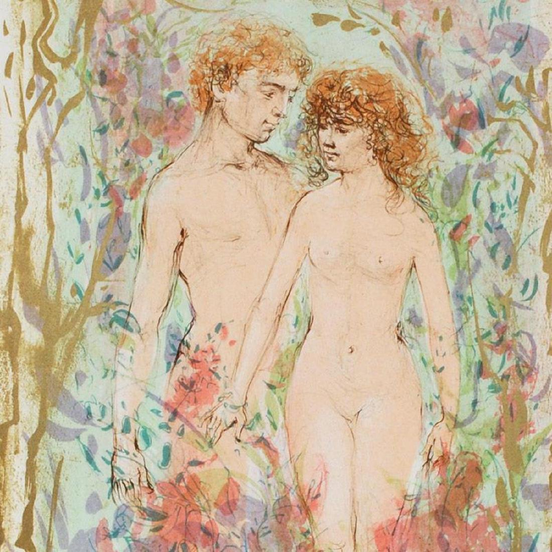 """""""The First Couple"""" Limited Edition Lithograph by Edna - 2"""