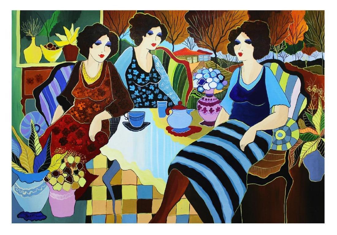 Patricia Govezensky- Original Acrylic On Canvas