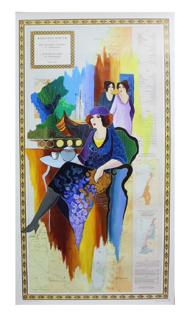 Patricia Govezensky- Original Acrylic Painting on - 2