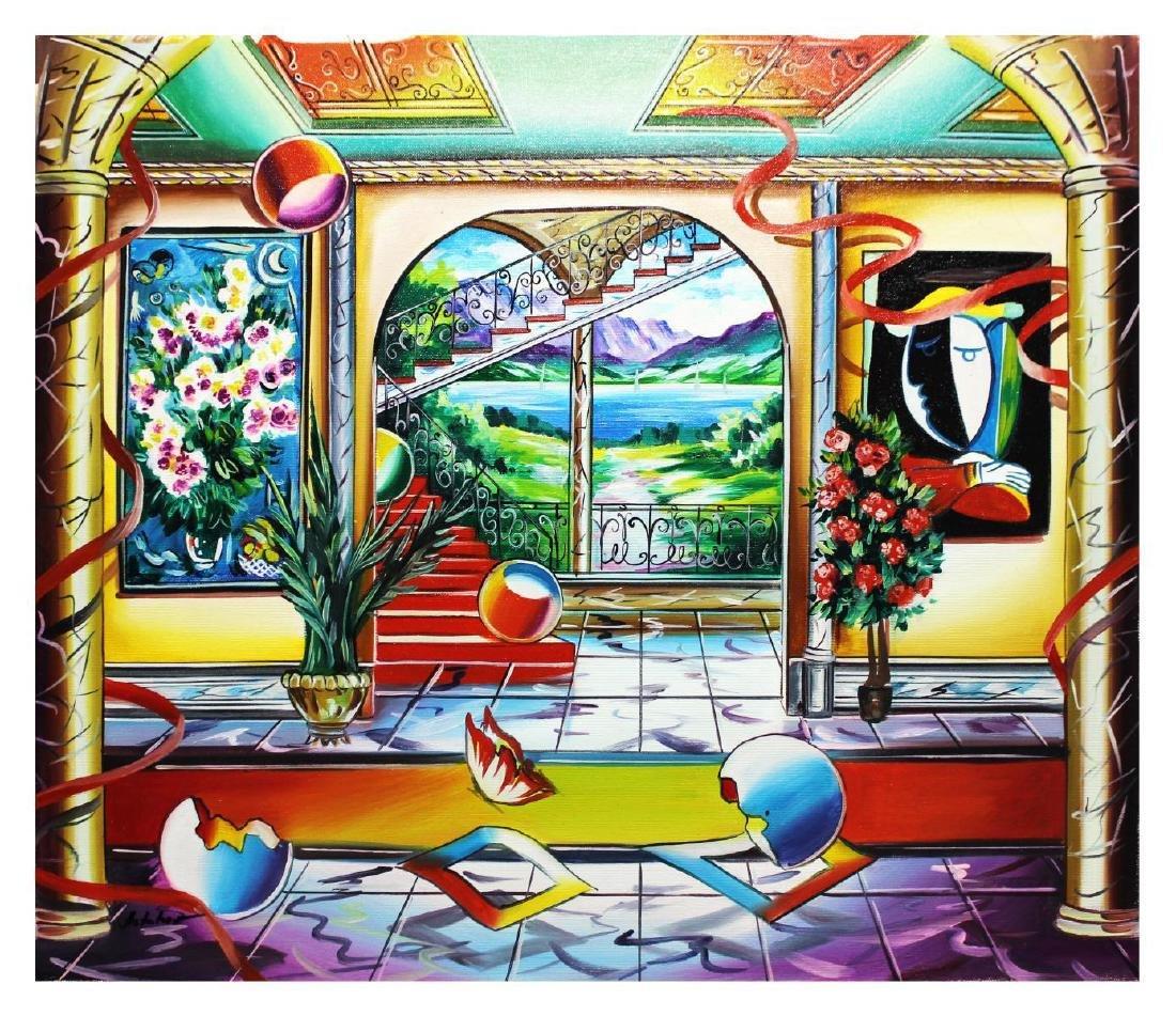 """Alexander Astahov- Original Oil on Canvas """"Fantasy"""