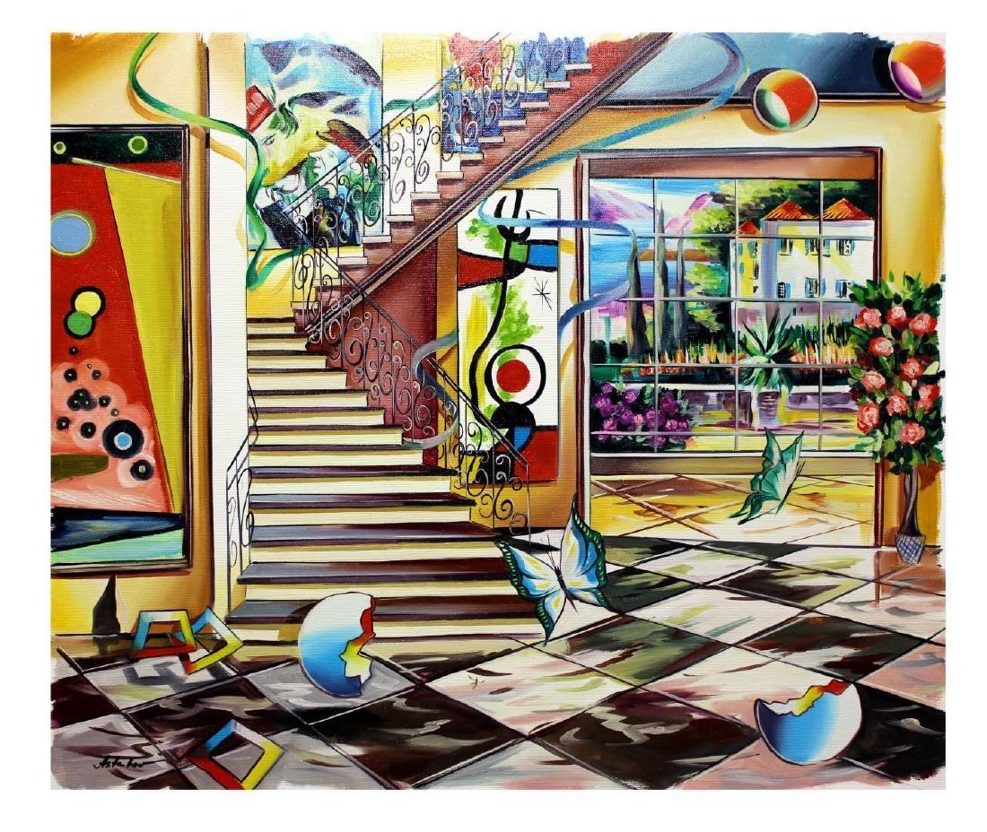 "Alexander Astahov- Original Oil on Canvas ""Follow me"