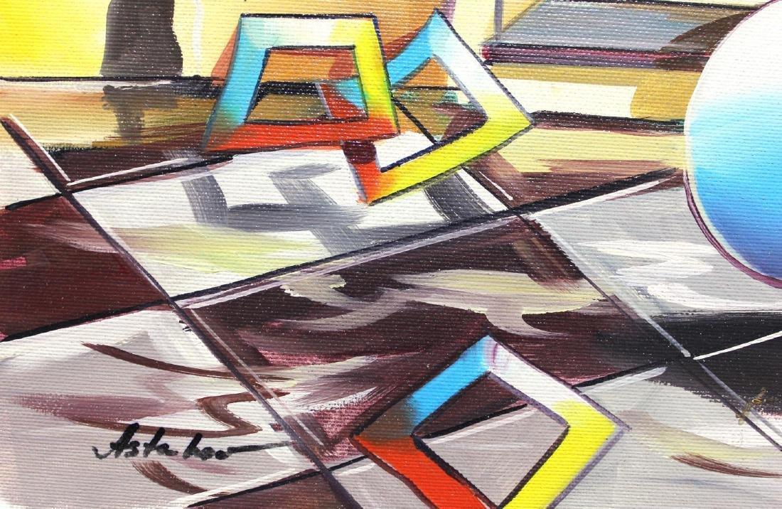 "Alexander Astahov- Original Oil on Canvas ""Follow me - 2"