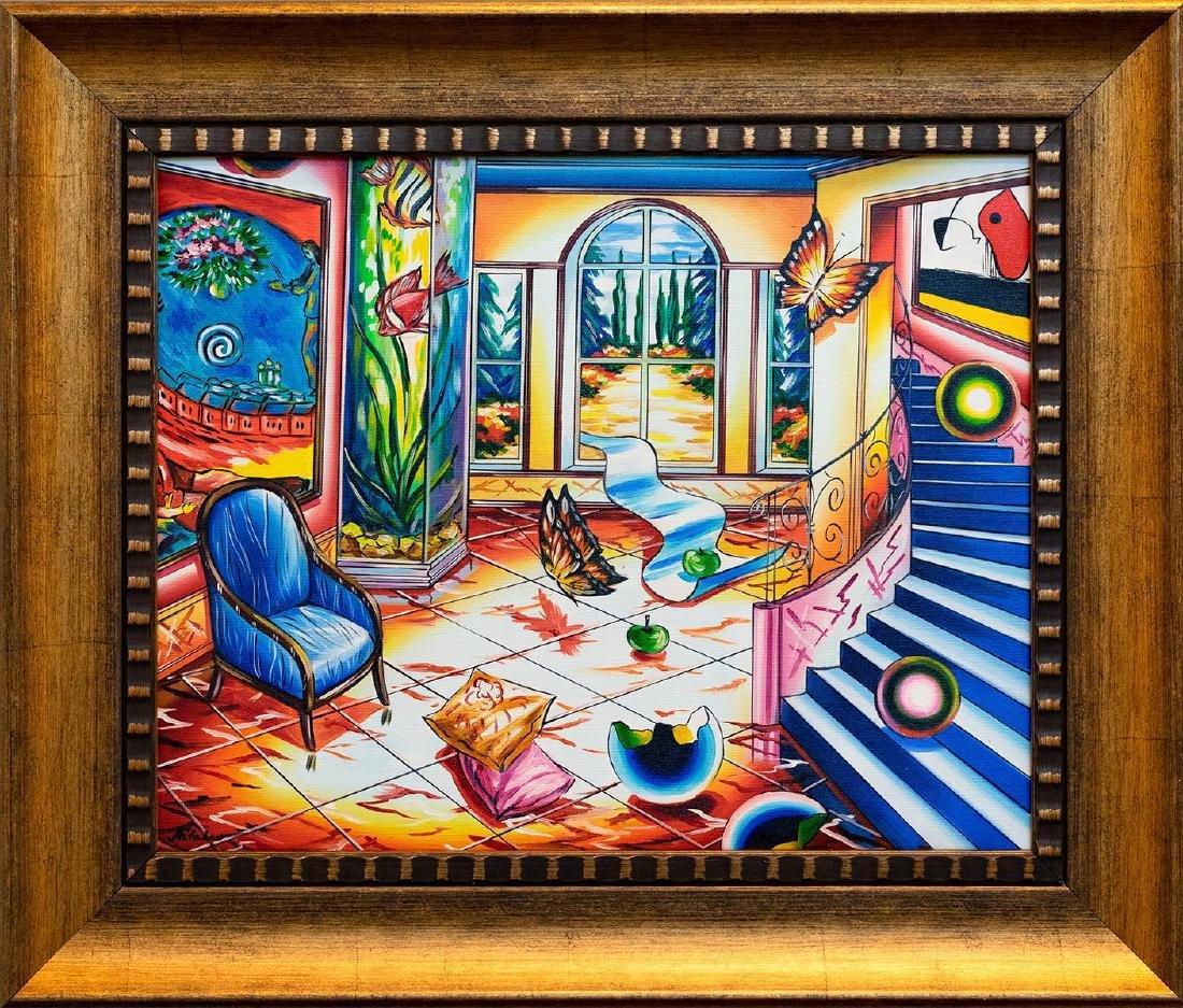 "Alexander Astahov- Original Oil on Canvas ""On the Other"