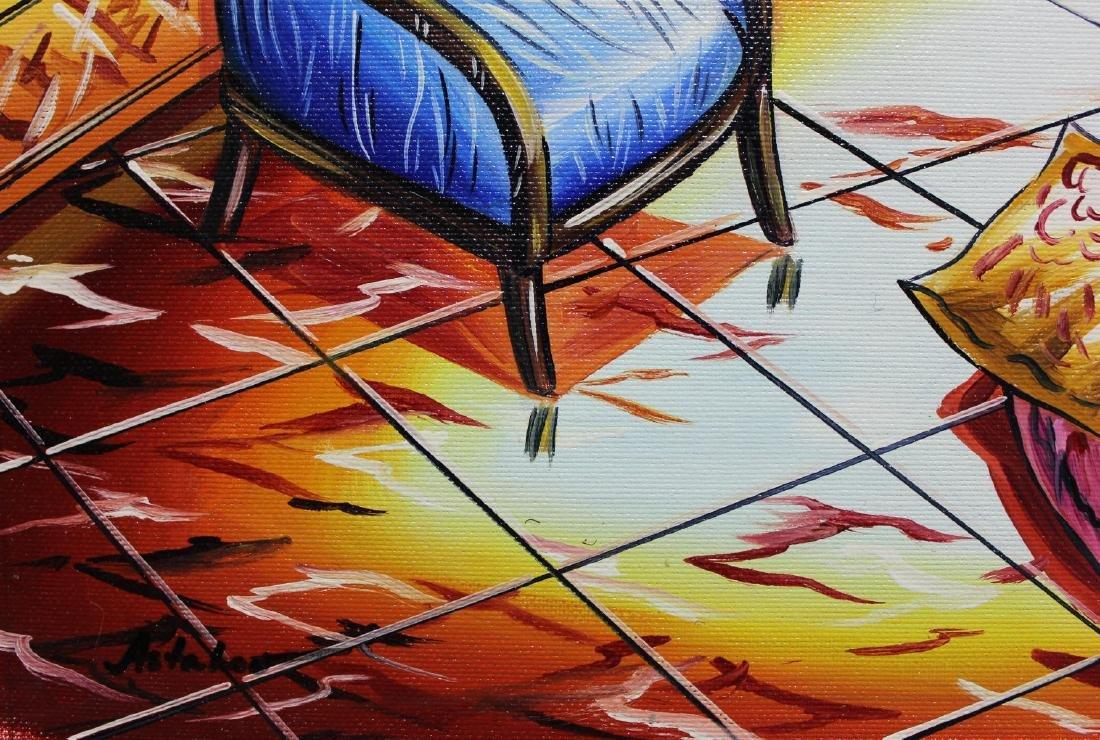 "Alexander Astahov- Original Oil on Canvas ""On the Other - 3"