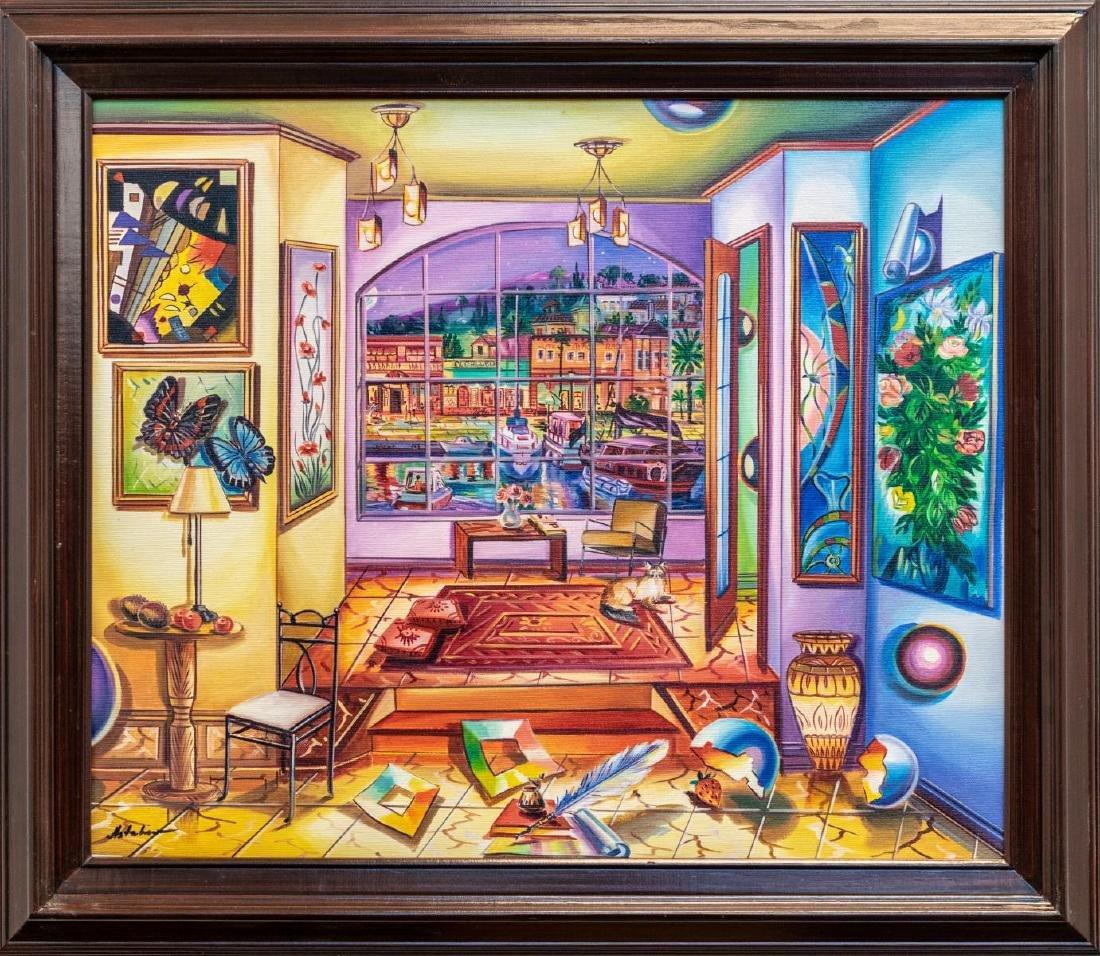 "Alexander Astahov- Original Oil on Canvas ""Nights of"