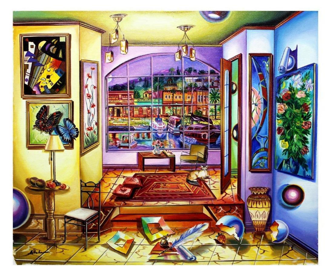 "Alexander Astahov- Original Oil on Canvas ""Nights of - 2"