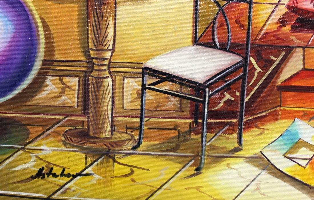 "Alexander Astahov- Original Oil on Canvas ""Nights of - 3"