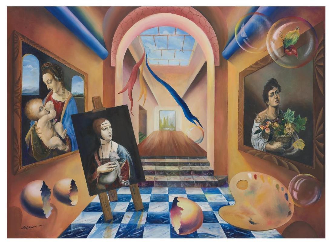 "Alexander Astahov- Original Giclee on Canvas ""The"