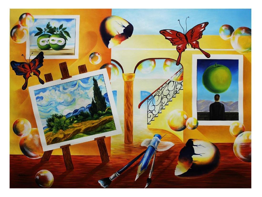 "Alexander Astahov- Original Oil on Canvas ""Painting My"