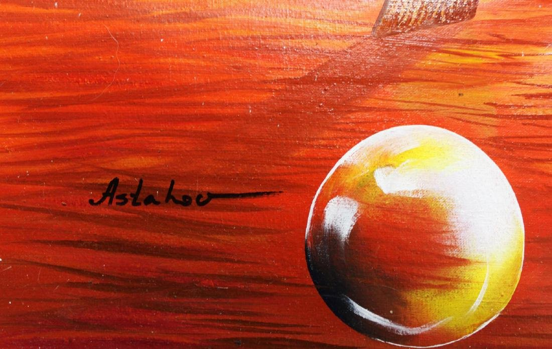 "Alexander Astahov- Original Oil on Canvas ""Painting My - 2"