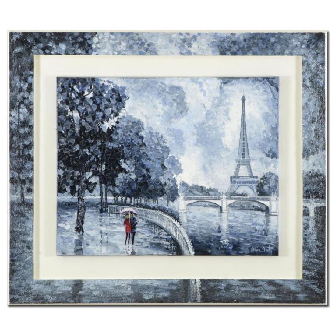 "Alexander Antanenka, ""Rainy Day by the Eiffel Tower"""