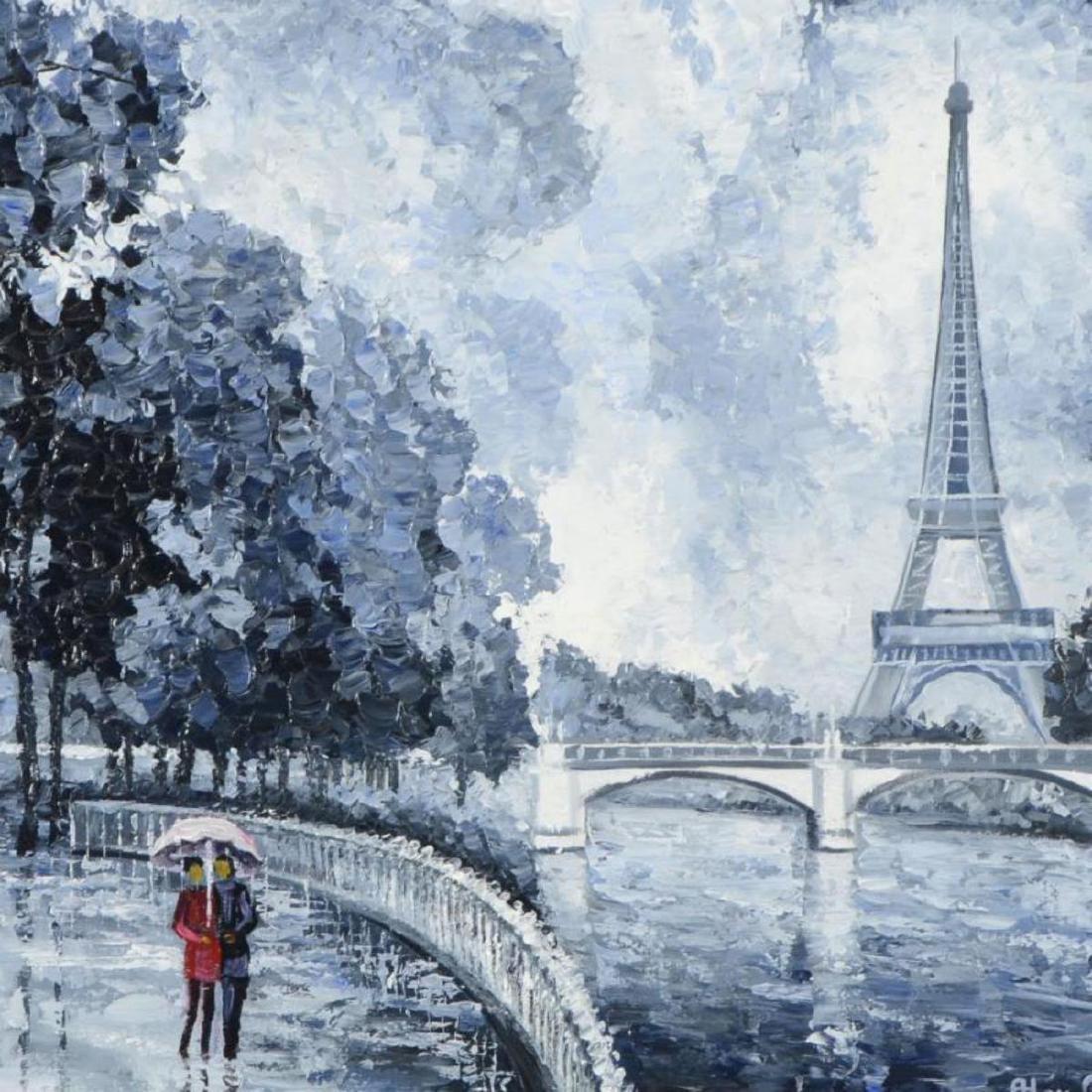 "Alexander Antanenka, ""Rainy Day by the Eiffel Tower"" - 2"