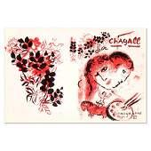 "Marc Chagall (1887-1985), ""Lithographe III"" Original"
