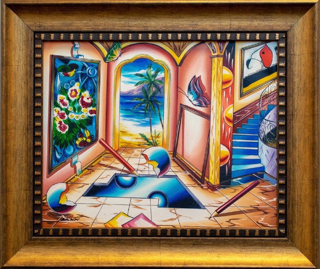 "Alexander Astahov- Original Oil on Canvas ""Come Find"